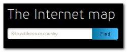Сервис Internet-map – карта Интернета в виде космоса