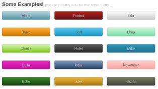 Готовые CSS кнопки