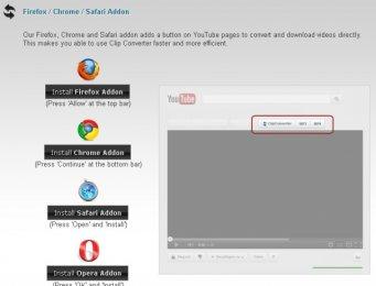 Дополнения браузера для скачивания видео с Youtube