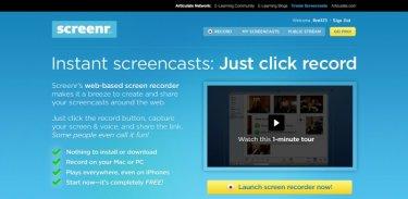 онлайн сервис Screenr