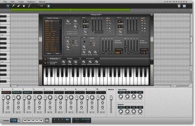 Виртуальная студия для звукозаписей - AudioSauna