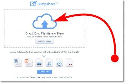 Расшариваем документы и файлы с помощью Jumpshare