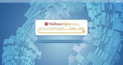 Онлайн сервис WolframAlpha