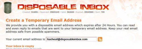 Одноразовая электронная почта