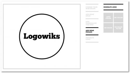 Создание простых логотипов