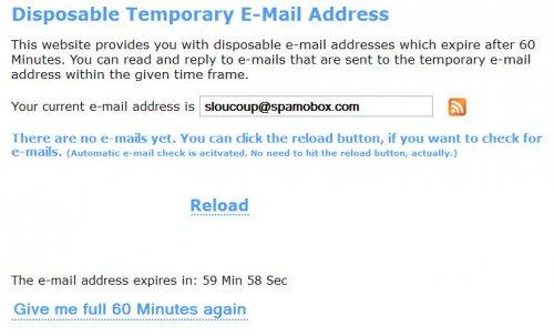 Временная и одноразовая почта