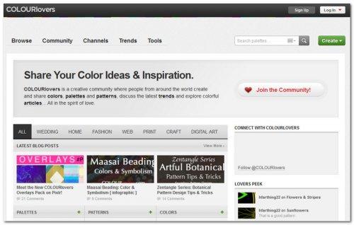 подборка цвета для сайта