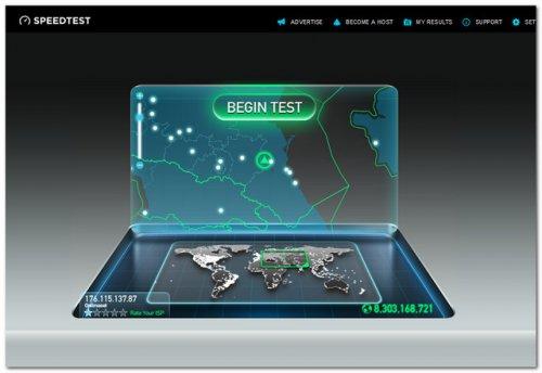 Измерить скорость интернета
