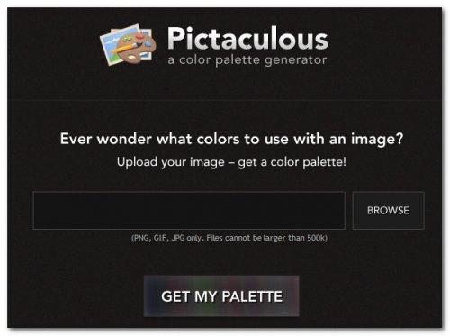 Генерация цветовой палитры из картинки