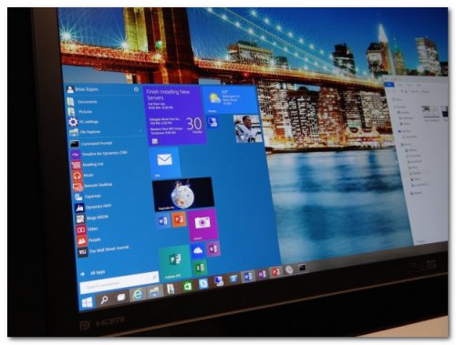 Презентация Windows 10 Technical Preview