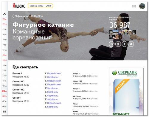 Новости и события Олимпиады 2014