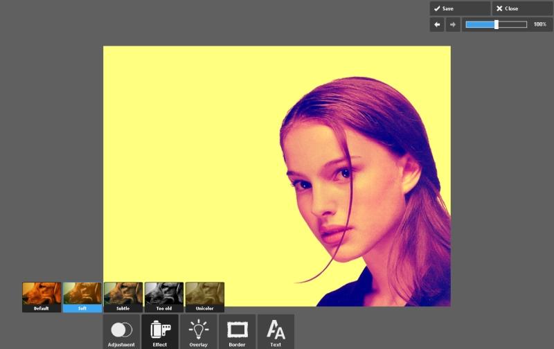 Эффекты для фото online