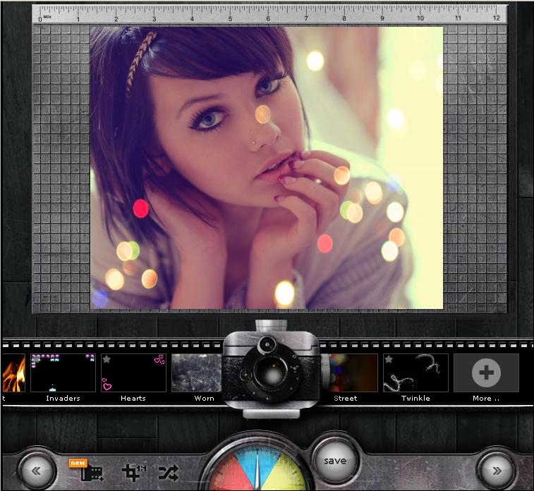 Фоторедактор картинок с эффектами
