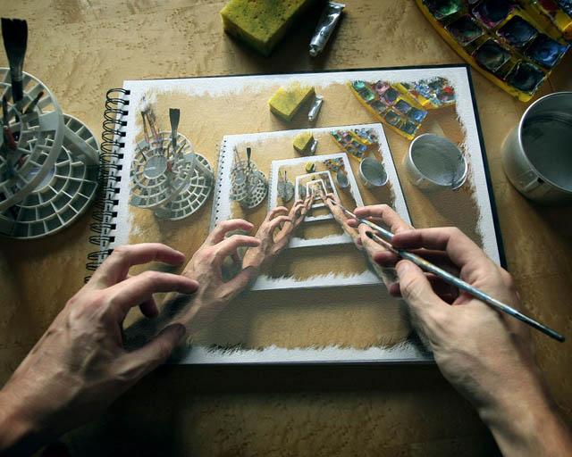 рисовать по фотографии онлайн