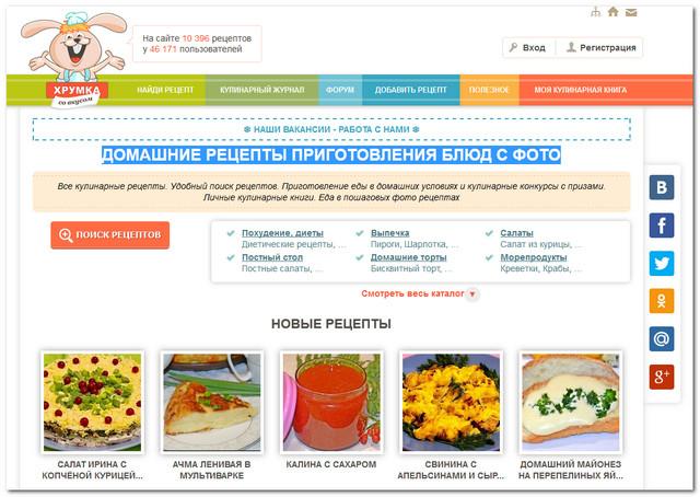 поваренок ру кулинарные рецепты с фото пошагово