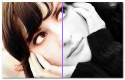 Как сделать цветным старое фото 557
